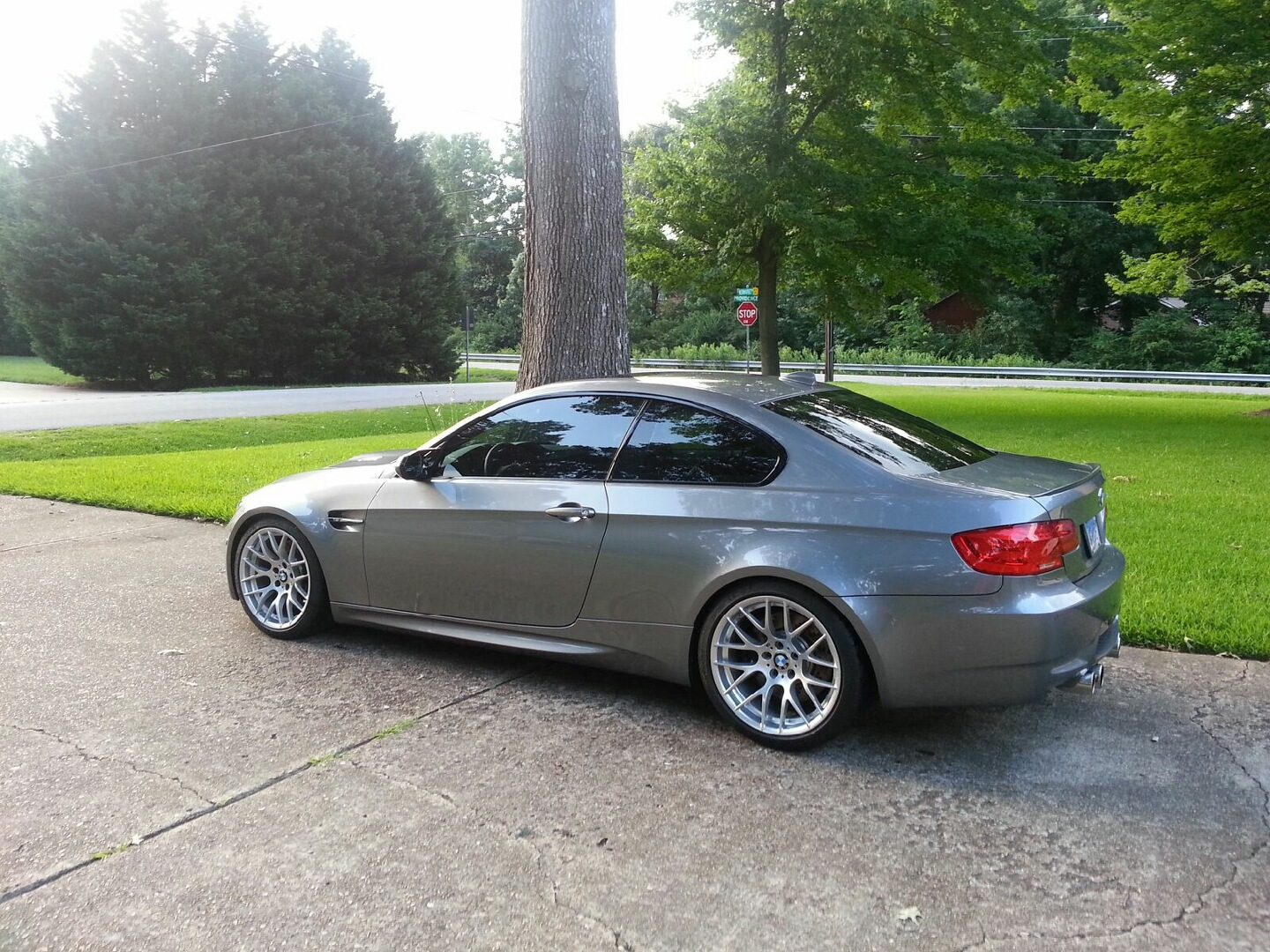 2012 E92 M3 Coupe Space Gray Fox Red Comp Package