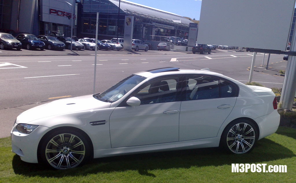 white e90 m3 sedan four door pics! (sorry if its a repost)