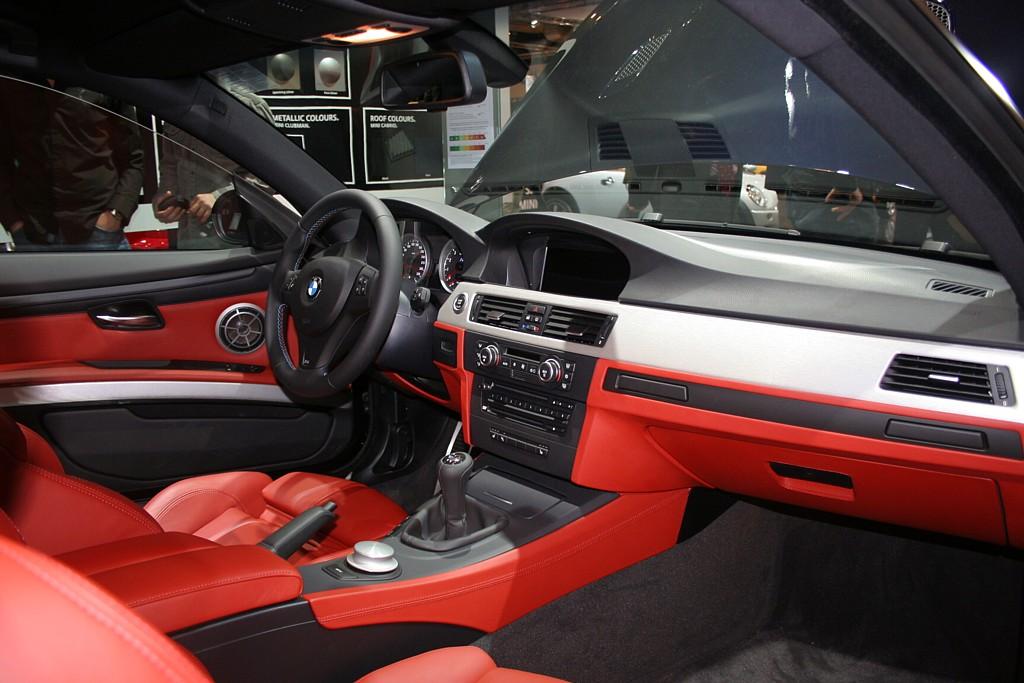 Bmw M3 Red Interior