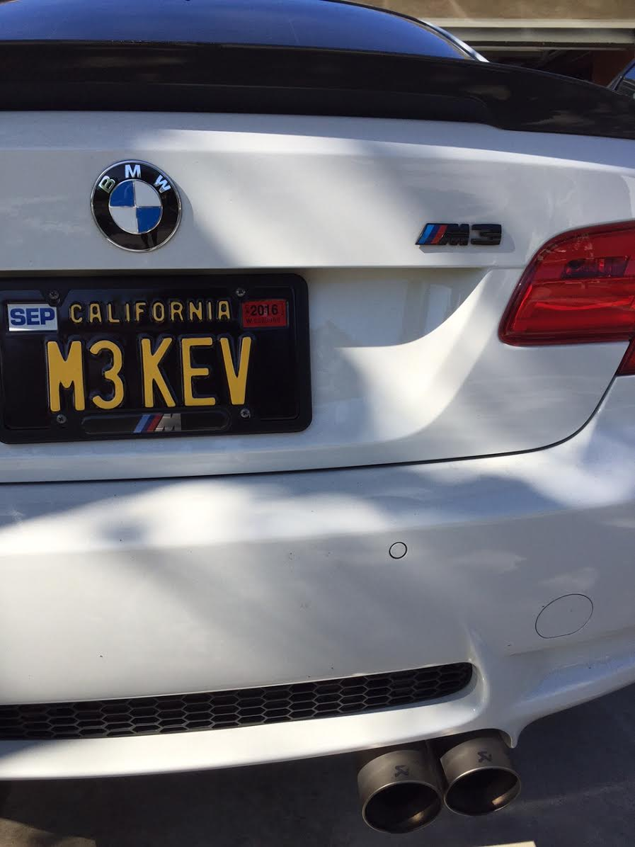 California Legacy Plates >> New Black And Yellow Legacy Plates Are Here Bmw M3 Forum
