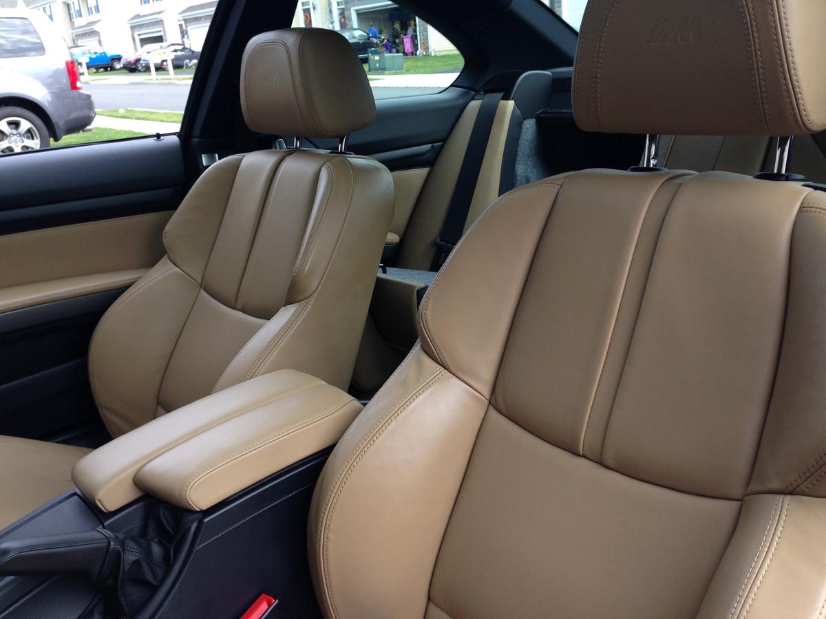 BMW E02 M3 interior