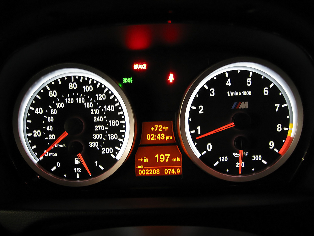 M Dct Instrument Cluster Display Question