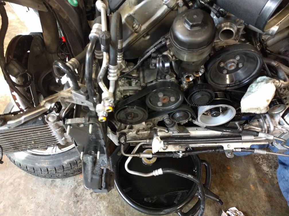 DIY: Engine/Transmission removal