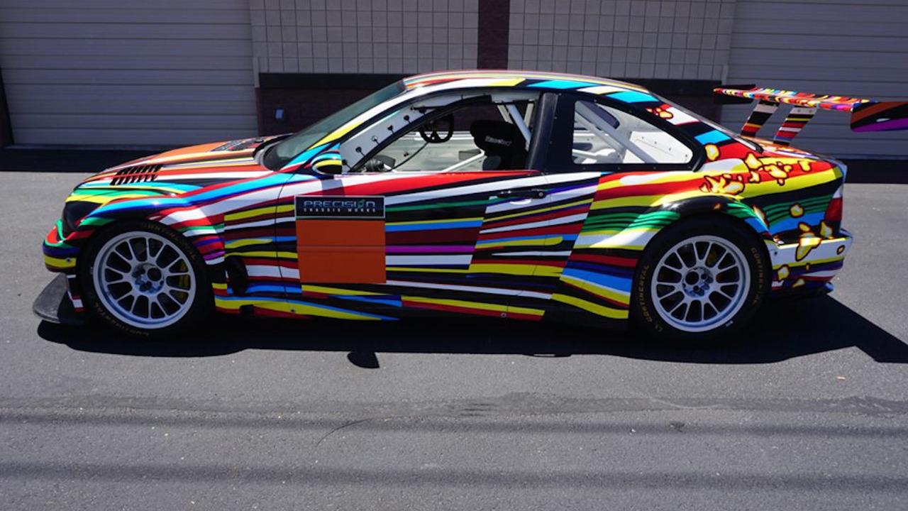 BMW Art Car Replica makes its way to eBay