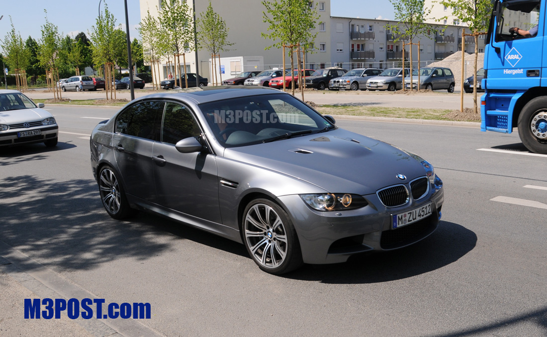2009 M3 Sedan E90 To Get Tailight Facelift Amp Space Gray