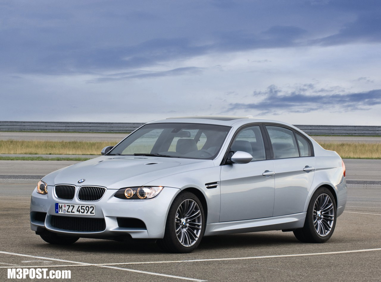 Official Pics 2009 E90 M3 Sedan Facelift W New Idrive