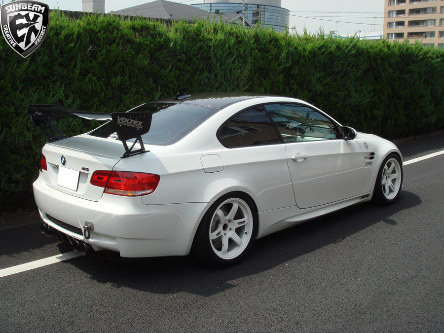 Check Out My New Spoiler Sunbeam M3