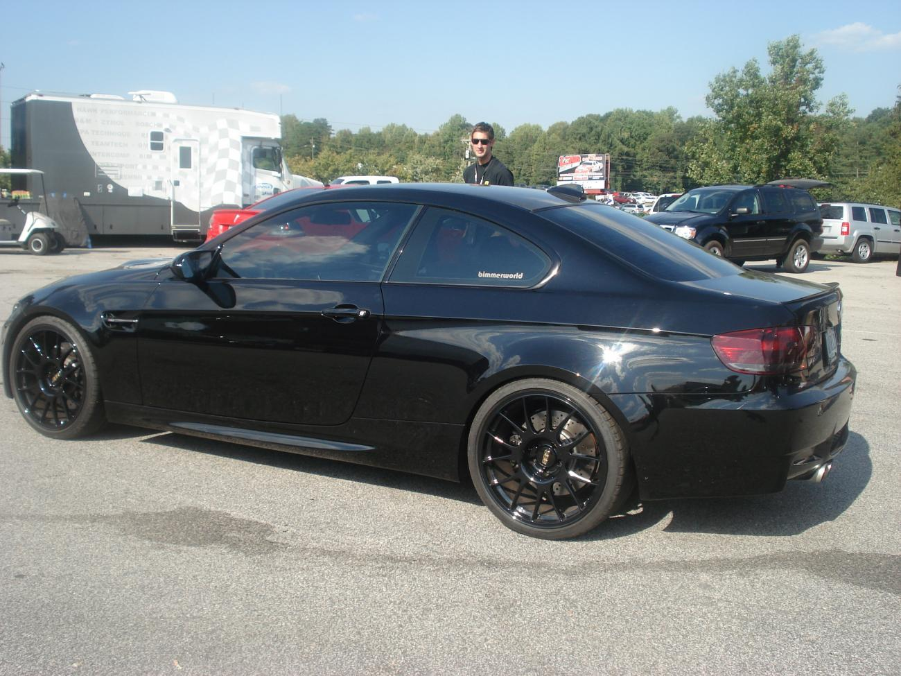 Black E92 With Bbs Ck Wheels