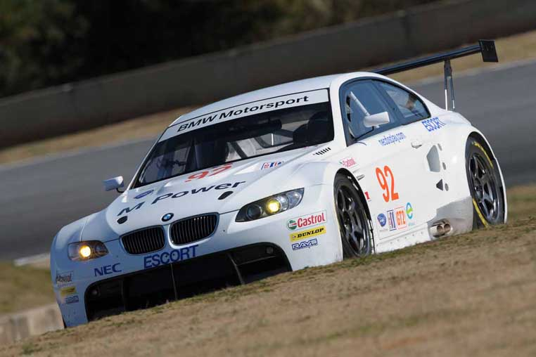 ALMS M3 Racecar Being Tested at Road Atlanta, Sebring