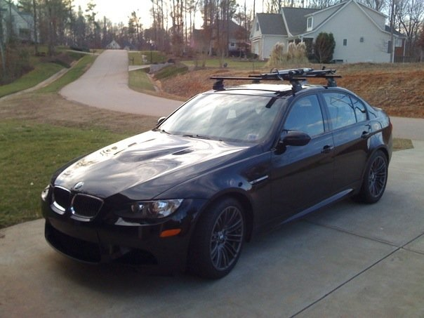 Thule Roof Bike Rack For E90 Sedan