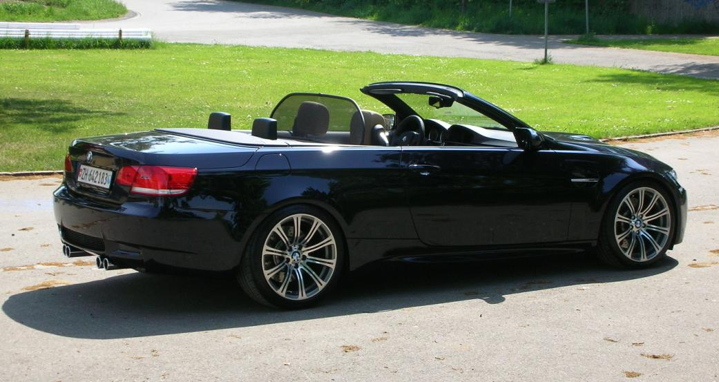 First Pictures Of My Black M3 Convertible