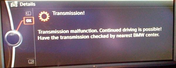 My Turn For Transmission Malfunction Bmw M3 Forum E90 E92