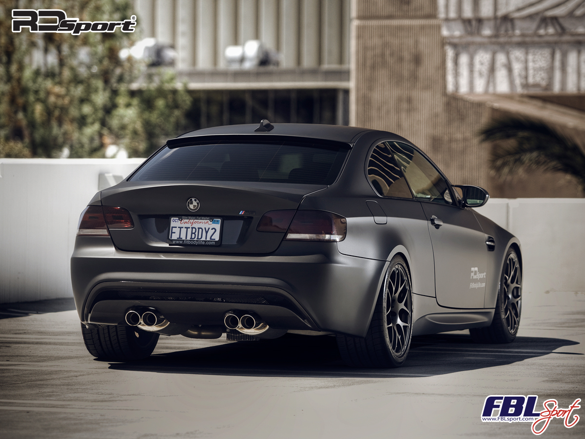 Official Pics Fblsport Rdsport Matte Black M3 Coupe