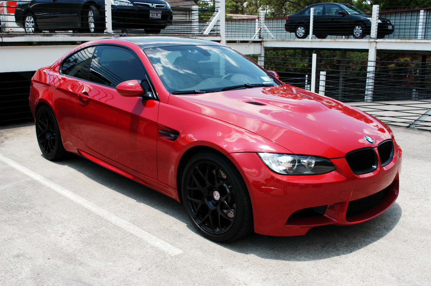 Fs 2008 E92 M3 Melbourne Red Bamboo Beige Cf Roof Mr
