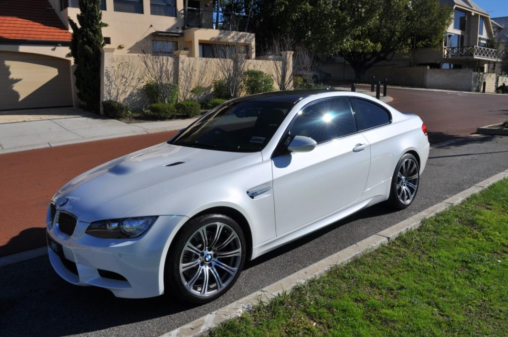 Bmw Coupe E92 Blanco Perlado Recien Pintado Combinaciones