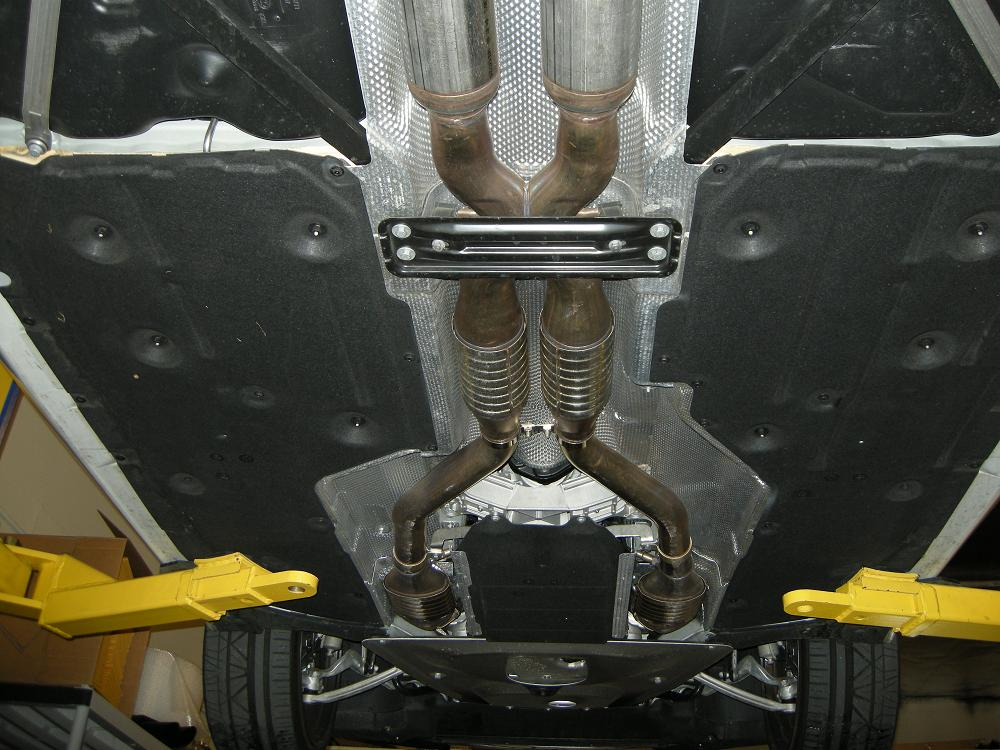 E92 M3 Undercarriage Picture