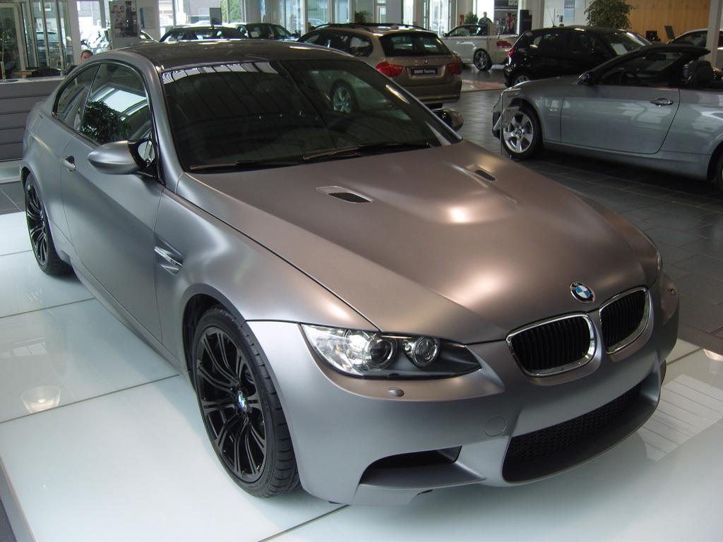 Limited Edition Frozen Grey Metallic E92 M3