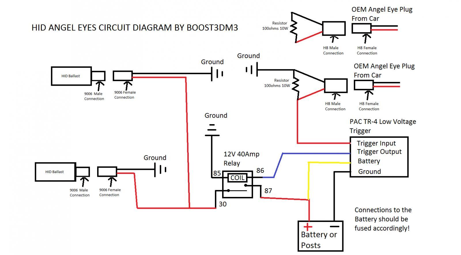 E46 Headlight Wiring Diagram from www.m3post.com