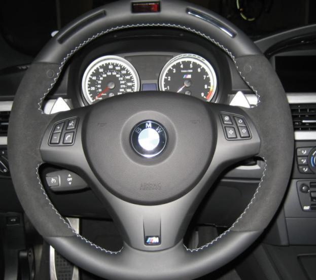 Bmw Z4 Toronto: Installed Alcantara Shift/Ebrake Boots & BMW Performance