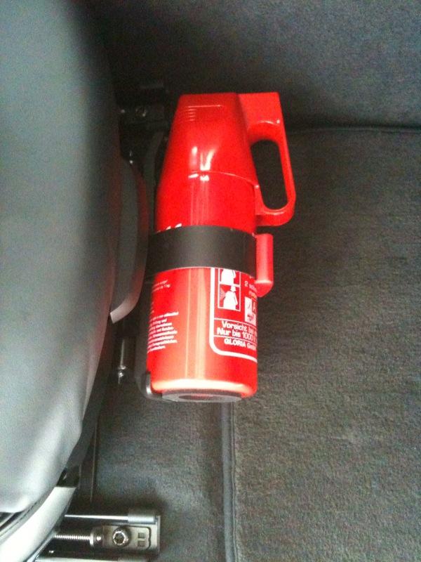 Bmw M4 2010 >> BMW OEM Fire Extinguisher Mounted