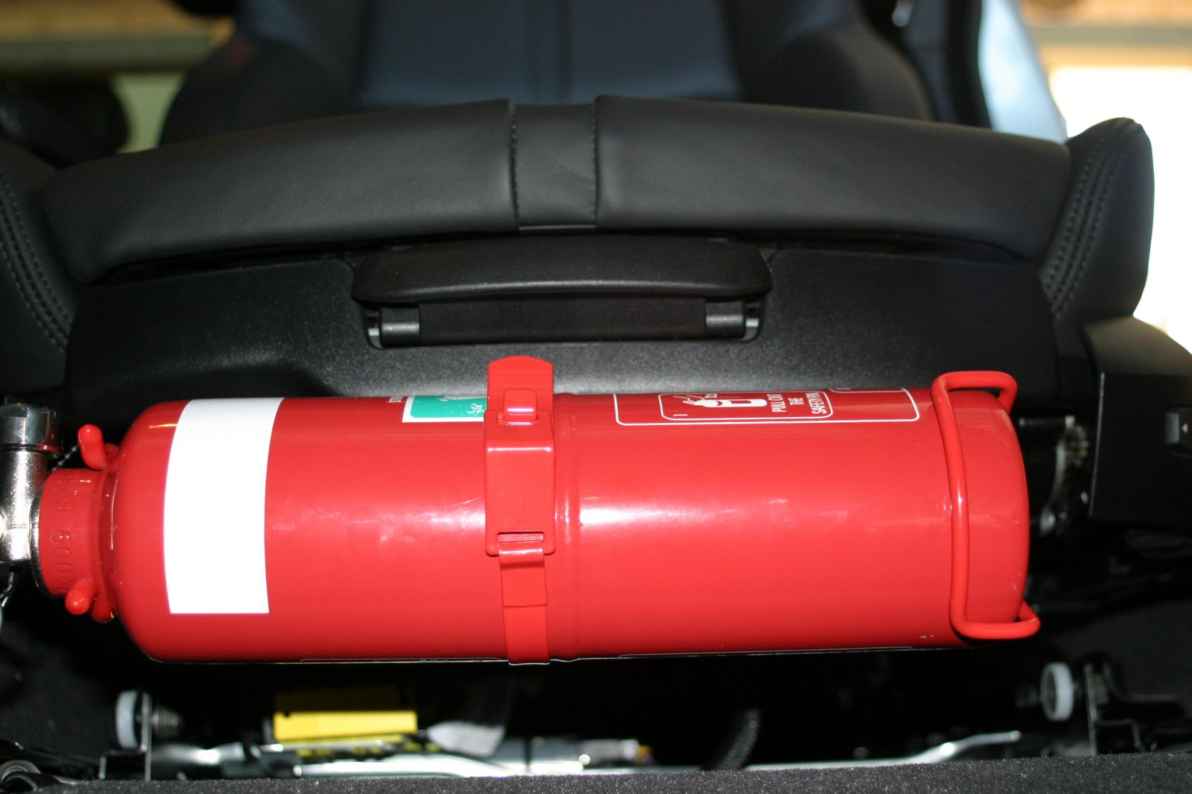 Bmw Oem Fire Extinguisher Mounted