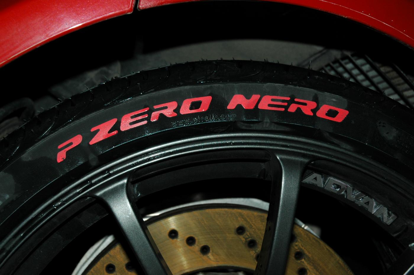 tires with red lettering painted tire sidewalls just the letters 14061 | attachment