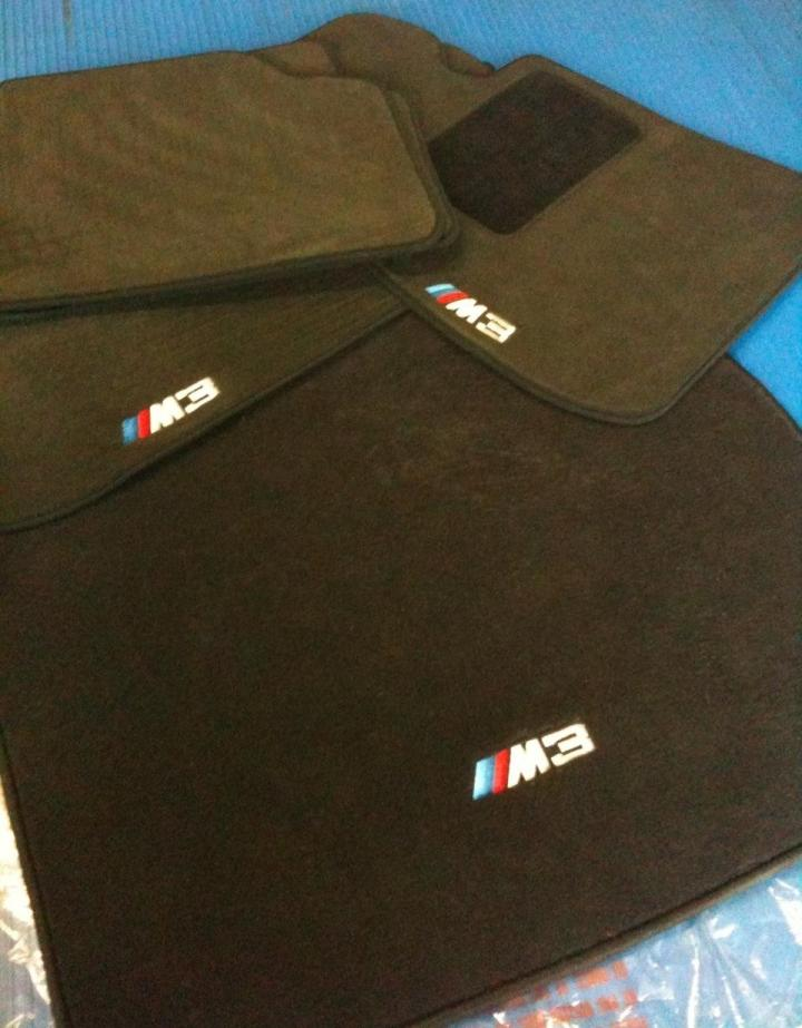 Fs E90 Lci Trunk Lid Full Set M Floor Mats Including