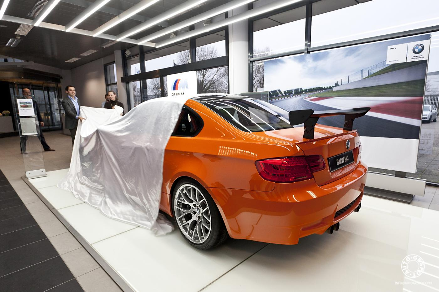 Bmw Netherlands Provides Exclusive M3 Gts Look
