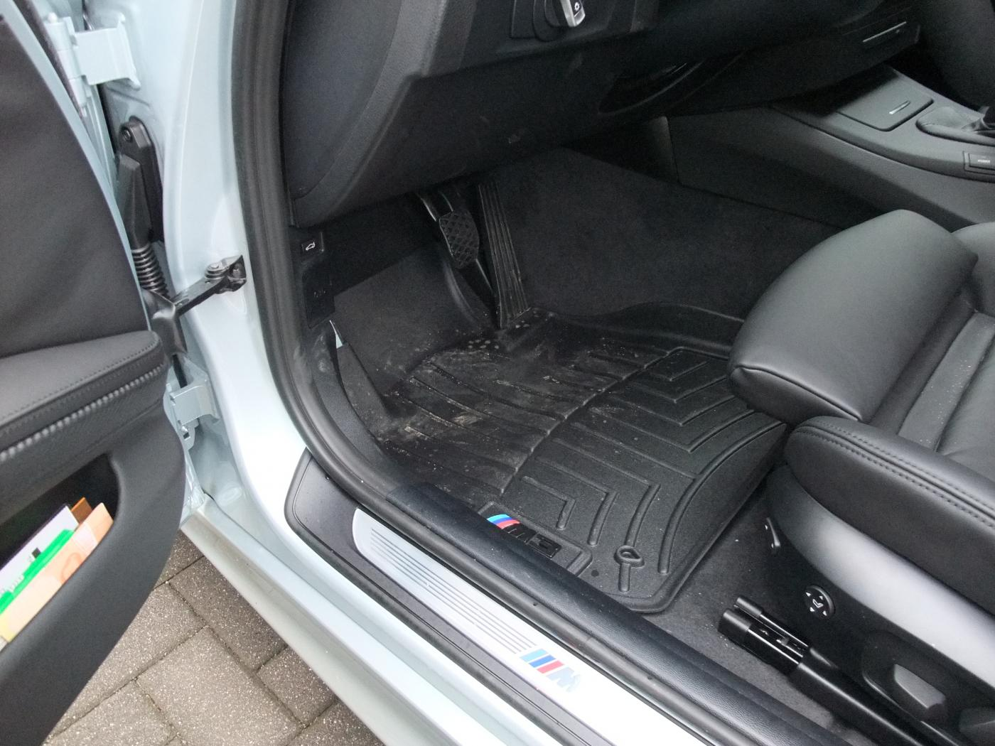 Weathertech mats ebay - Here S How They Look In My Car With The Weathertech Logos Peeled Off And Replaced With M3 Logos From Ebay 13 Each