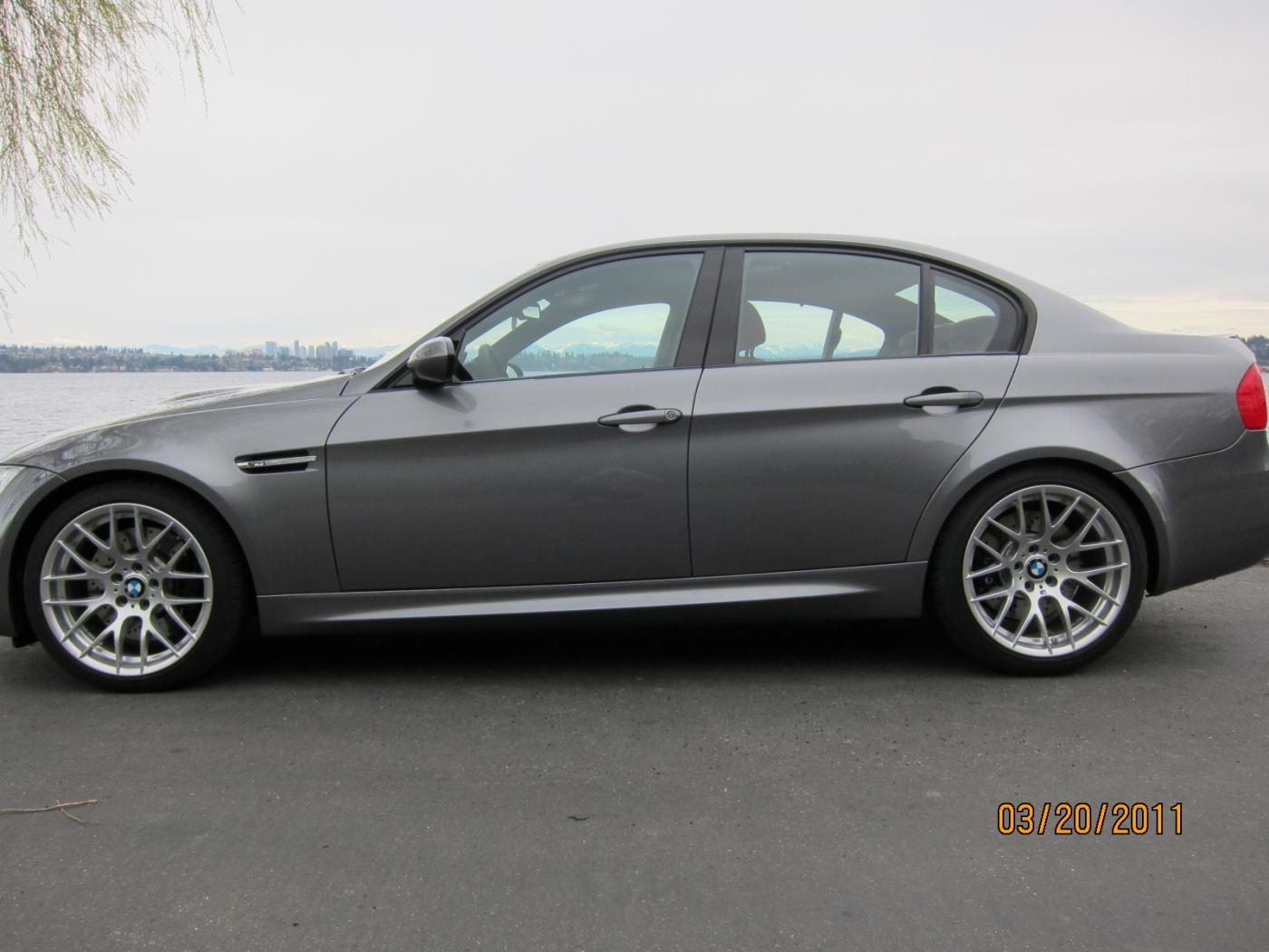 Just Arrived E90 Space Gray Fox Red