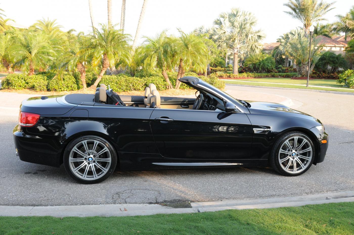 FS: 2009 BMW M3 E93 DCT Convertible Jerez Black