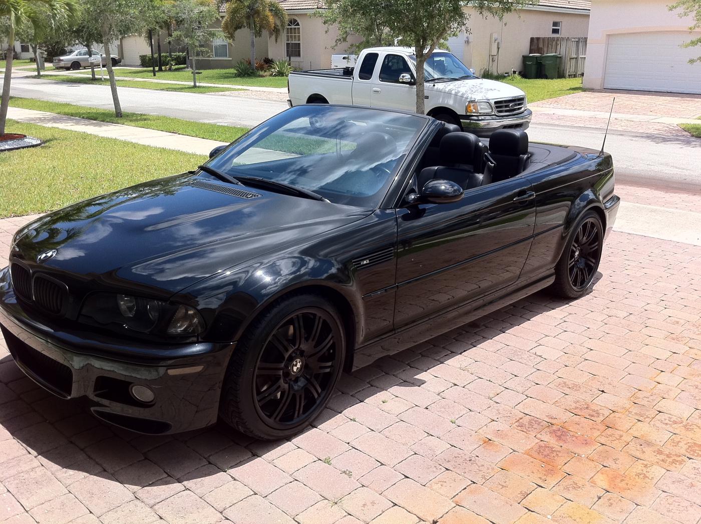 Bmw M Black Convertible - 2006 bmw convertible