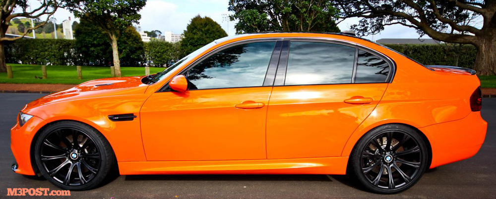 Fire Orange E90 M3 Sedan Custom Built
