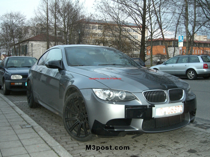 e92 2008 BMW M3 Front End
