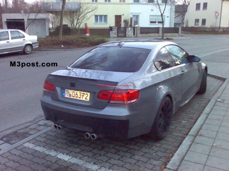 e92 2008 M3 rear end