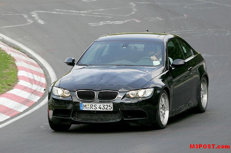 e92 2008 BMW M3 at the 'ring