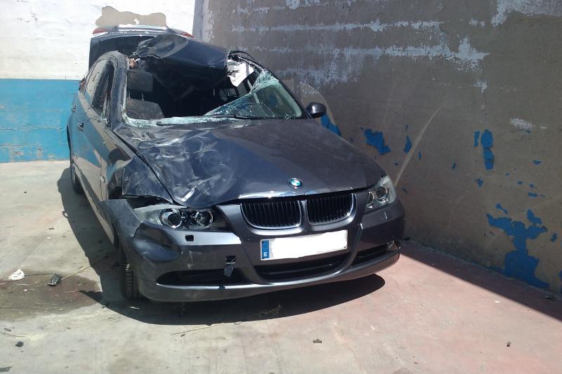 diy car crash diy flir night vision e90 lci