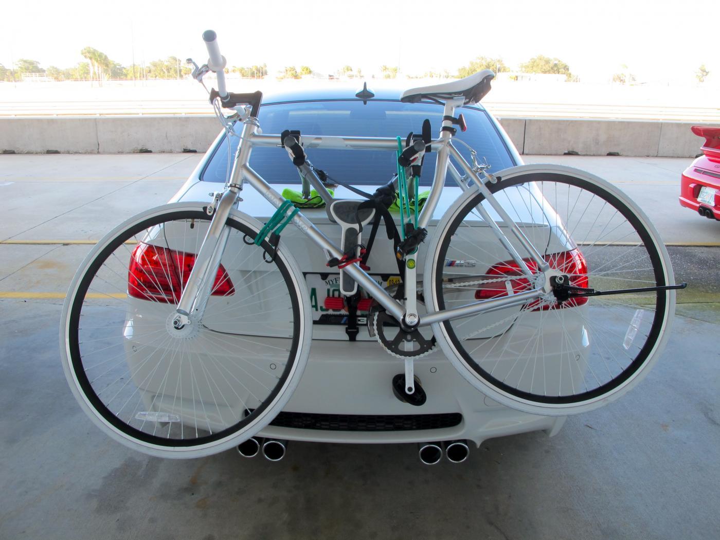 Trunk Mounted Bike Rack For E - Bmw 335i bike rack
