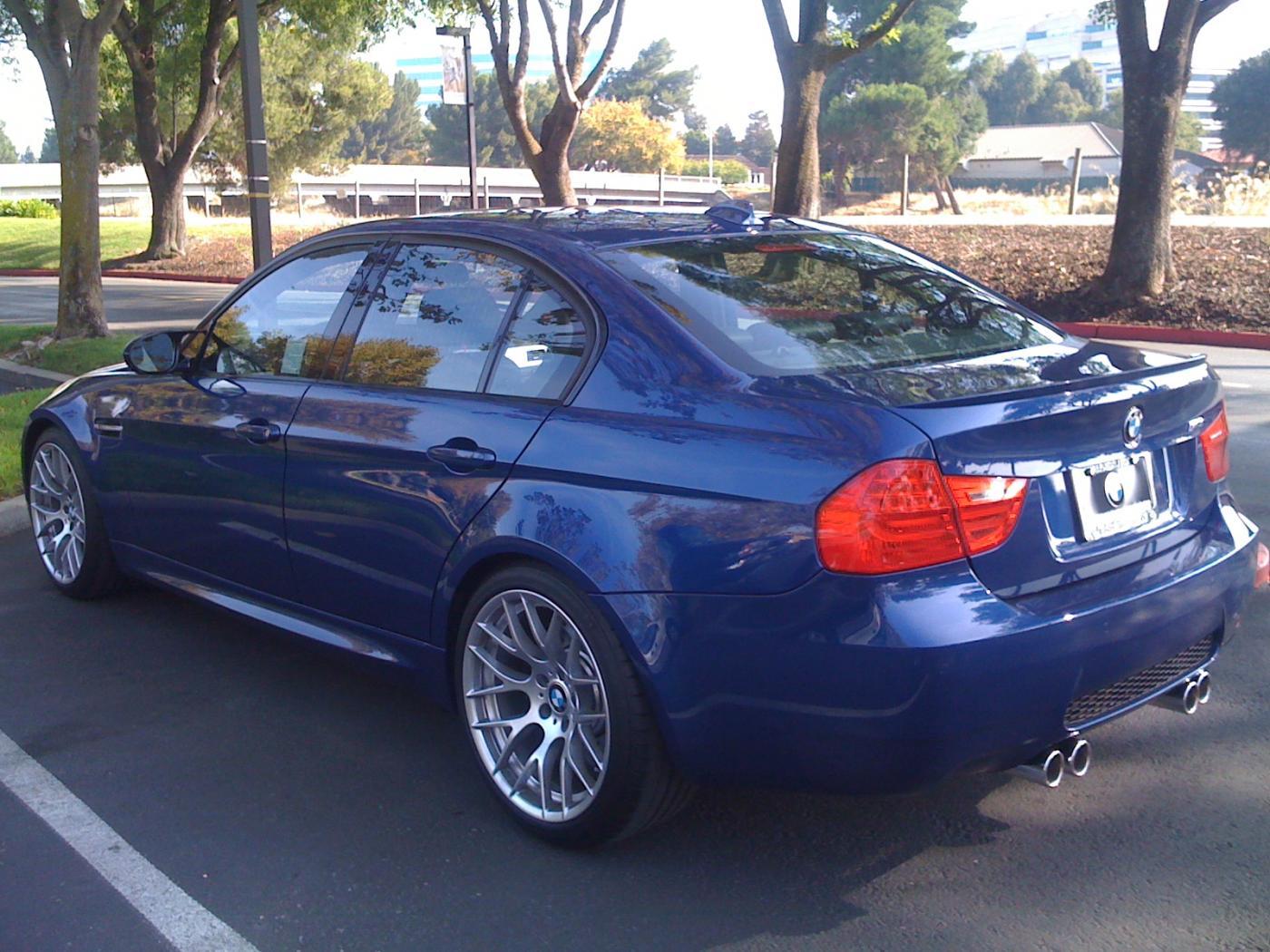 My 2011 Lemans Blue E90 Zcp