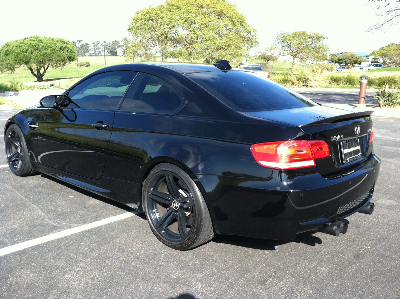 Blacked Out E92 S