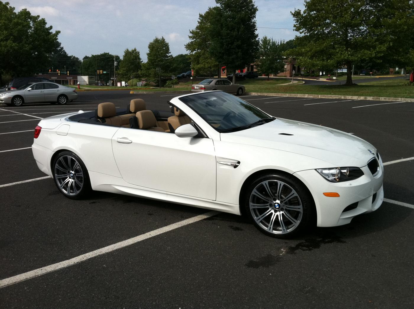 Lease takeover 2011 m3 e93 convertible alpine white with novillo beige loaded for White bmw with red interior for sale