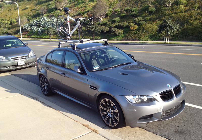 OEM BMW Rack With Bike Rack - Bmw 335i bike rack