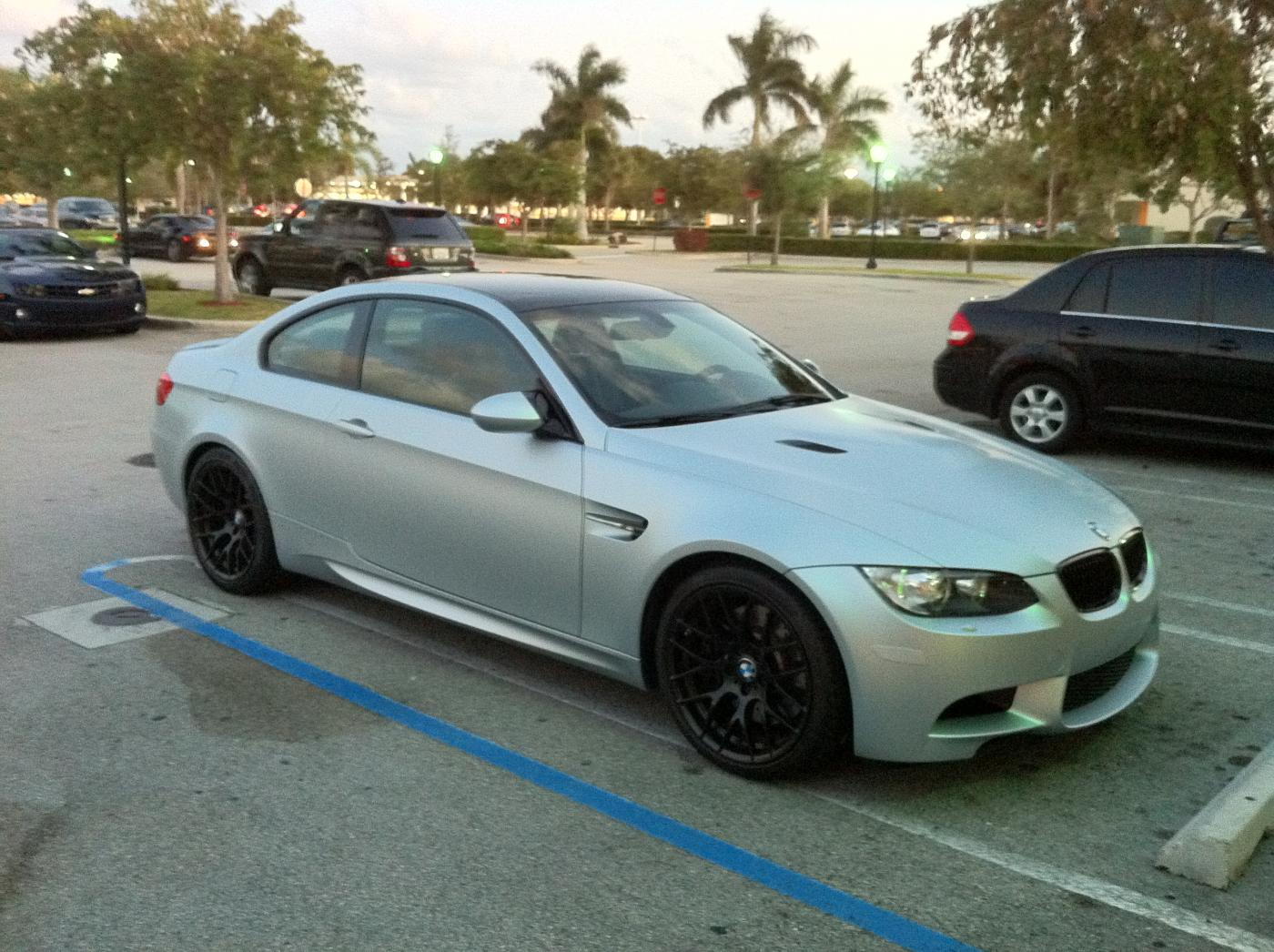 My New 2012 E92 M3 Frozen Silver Zcp Oneof40