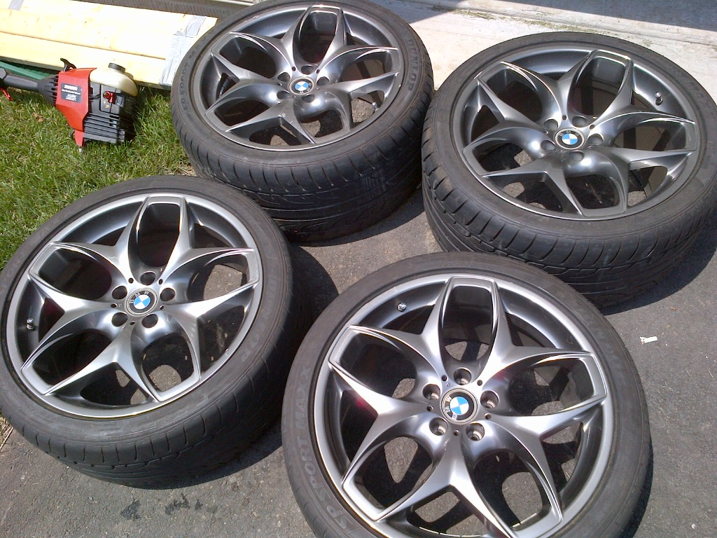 Bmw E70 X5 2007 E71 X6 2008 Oem Style 215 European 21 Quot Wheels W Tires