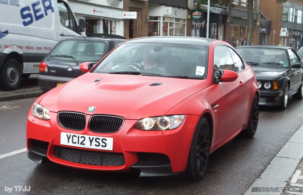 Very First M3 M Performance Edition is a Frozen Red M3