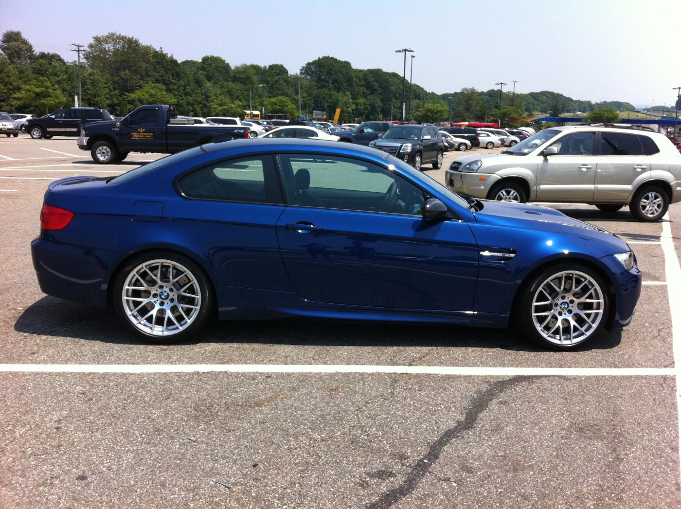 Fs 2012 Lemans Blue M3 Comp Package