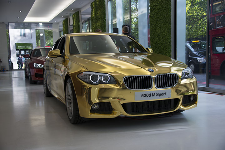 Chrome M3 Gold M5 D