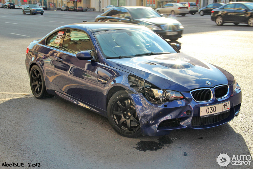 Friendly Fire Bmw Wreck Takes Out M3s 1m And M5 In Russia