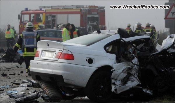 Bmw M3 E46 Fatal Accident