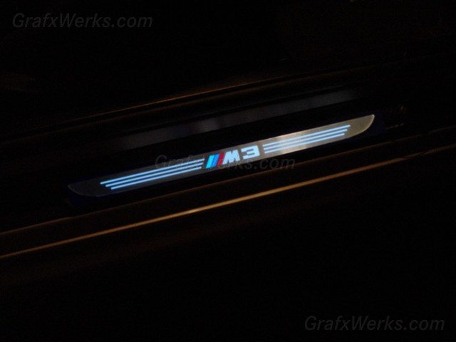 Check this outM3 ILLUMINATED door sill logo